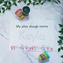 MY PLAY DOUGH NAME