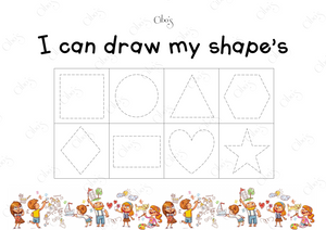 I CAN DRAW MY SHAPES