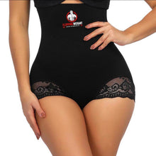FlippingWeight®️Black Superfit Cut Out Lace Butt Lifter