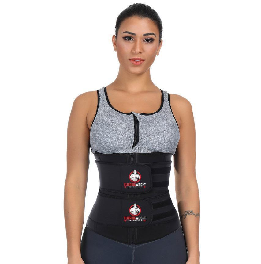 Flipping Weight® Waist Slimmer With Sticker Tummy Control