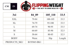 Flipping Weight® Black High Power Latex Double Belt Sticker Vest Waist Shaper