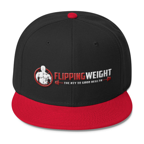 Flipping Weight® Wool Blend Snapback (Multiple Colors)