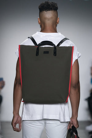 LARGE CANVAS BACKPACK ROBYN