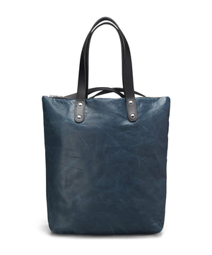 BLUE STONEWASH LEATHER ROBYN BACKPACK