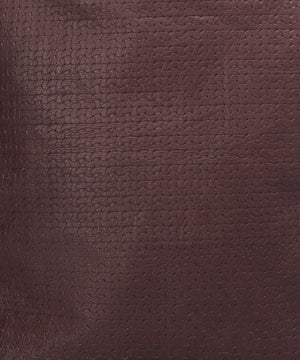 BURGUNDY WEAVE LEATHER ROBYN BACKPACK