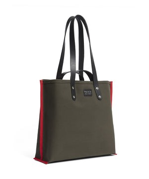 S1D1 SMALL CANVAS TOTE BAG