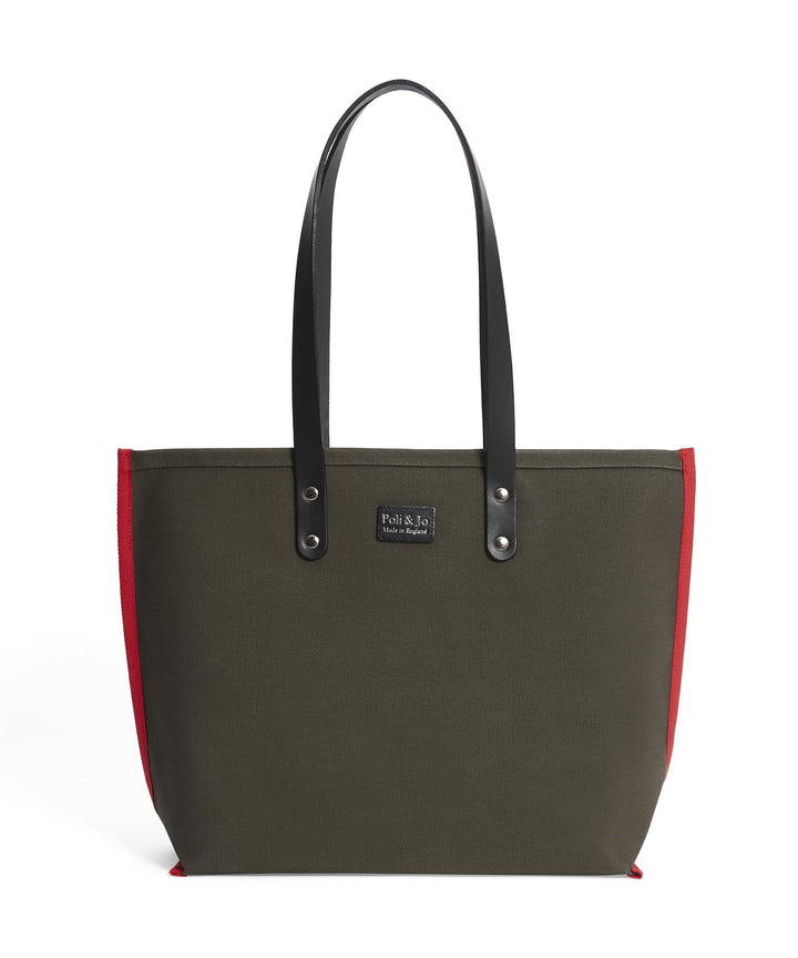S2D1 SMALL CANVAS TOTE - Poli & Jo