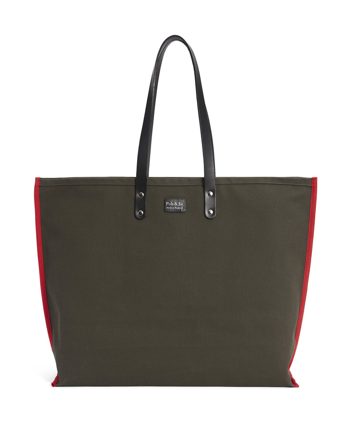 S2D3 LARGE CANVAS TOTE - Poli & Jo