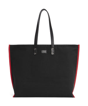 S2D3 LARGE BLACK CANVAS TOTE