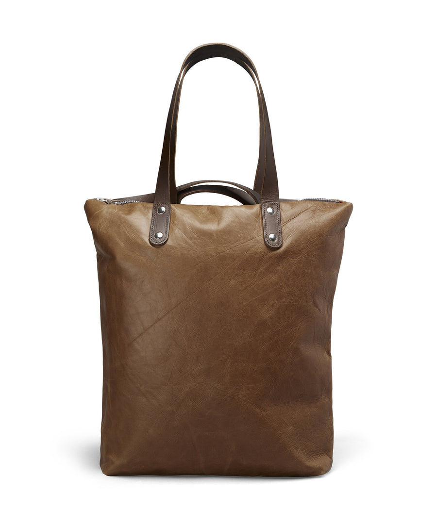 TAN LEATHER ROBYN BACKPACK