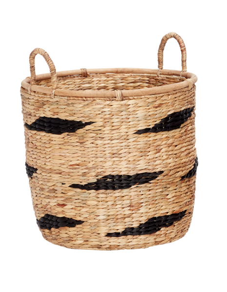 Round Basket With Handle - Large