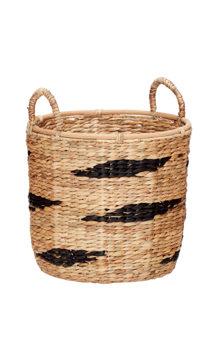 Round Basket With Handle - Medium