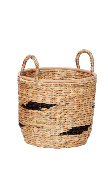 Round Basket With Handle - Small
