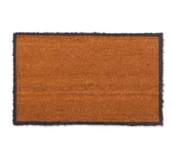 Charcoal Border Doormat