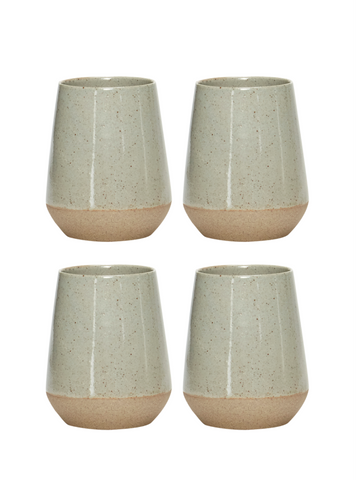 Ceramic Cups - Set of Four