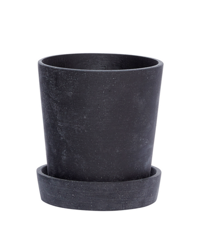 Plant Pot With Saucer - Small