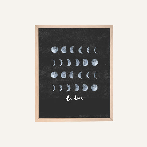 Print - Moon Phases