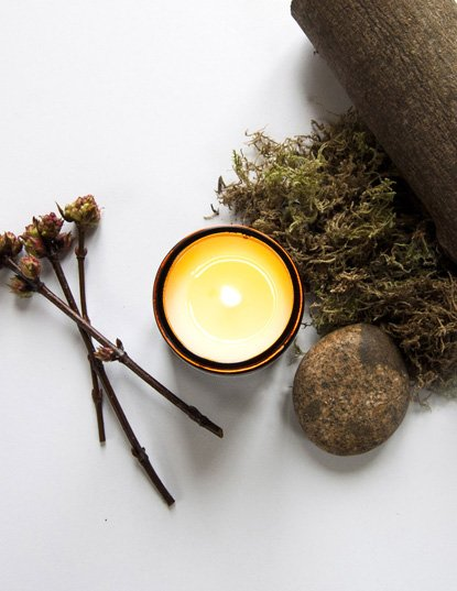 Soy Wax Candle - Rosewood and Moss