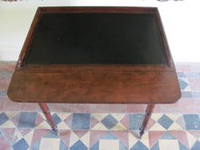 Regency antique Mahogany Writing Table/desk.House of peers/lords