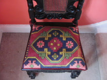 antique hall chair