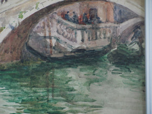Venice Canal, watercolour, Helen Donald-Smith