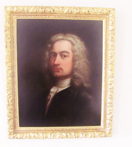 17th century antique Portrait of a Gentleman,follower of  Sir Peter Lely
