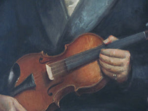 portrait man with violin countryhousefineart