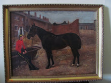 19th century landscape portrait military army horse