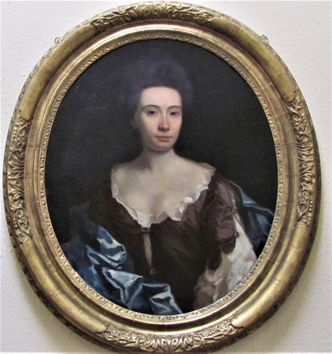 17th century portrait of Lady Sarah Cowper, Circle of Michael Dahl