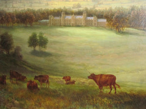 country house landscape 19th century