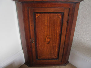 Georgian corner cupboard