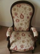 19th Century antique Victorian  armchair french