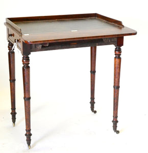 regency antique writing table house of peers/lords