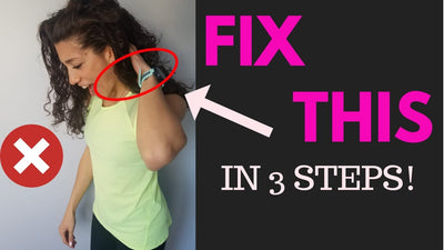 How To Fix Neck Pain - 3 Step Routine