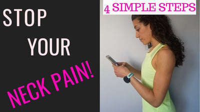 How To Stop Neck Pain - 4 Simple Ways