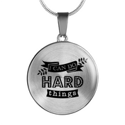 I Can Do Hard Things Necklace - Jewelry - Flexis Fitness