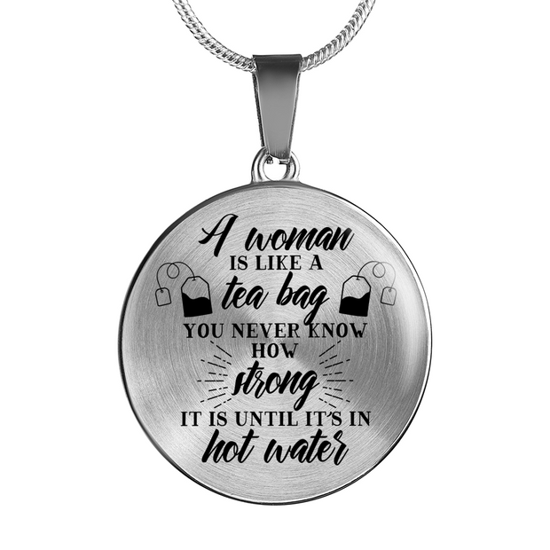Strong In Hot Water Necklace - Jewelry - Flexis Fitness