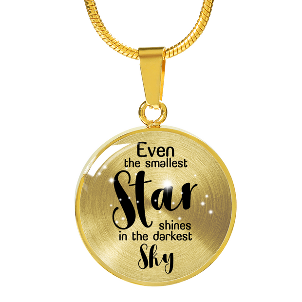 Shine In The Darkest Sky Necklace - Jewelry - Flexis Fitness