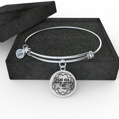 Fear Her Bangle - Jewelry - Flexis Fitness