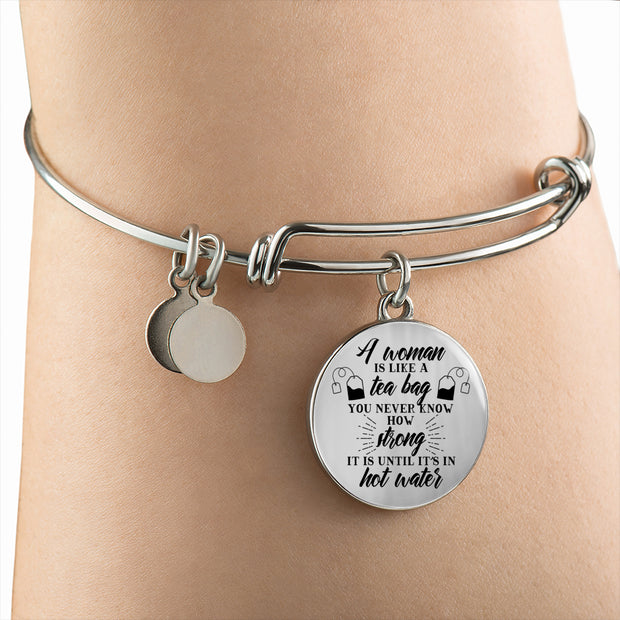 Strong In Hot Water Bangle - Jewelry - Flexis Fitness