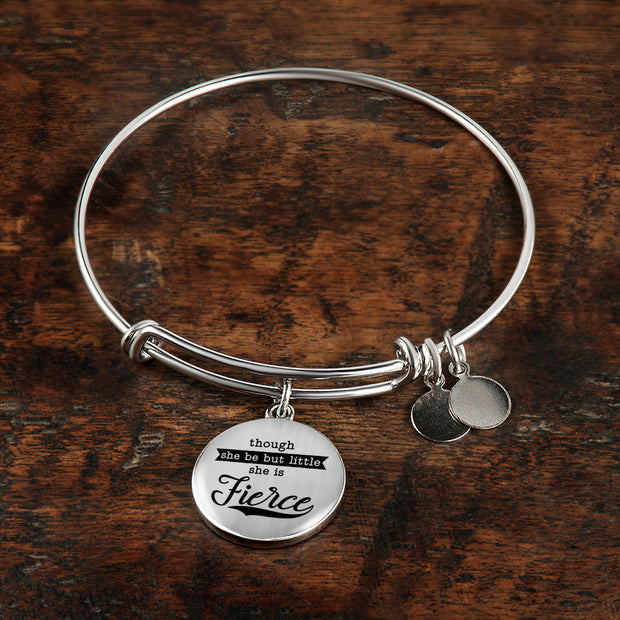 Little But Fierce Bangle - Jewelry - Flexis Fitness