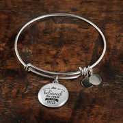 She Believed Bangle - Jewelry - Flexis Fitness