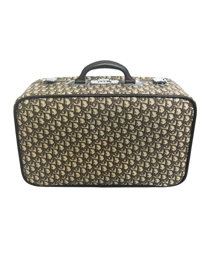 Fruit Vintage Christian Dior Rare 1970s Carry-On Suitcase