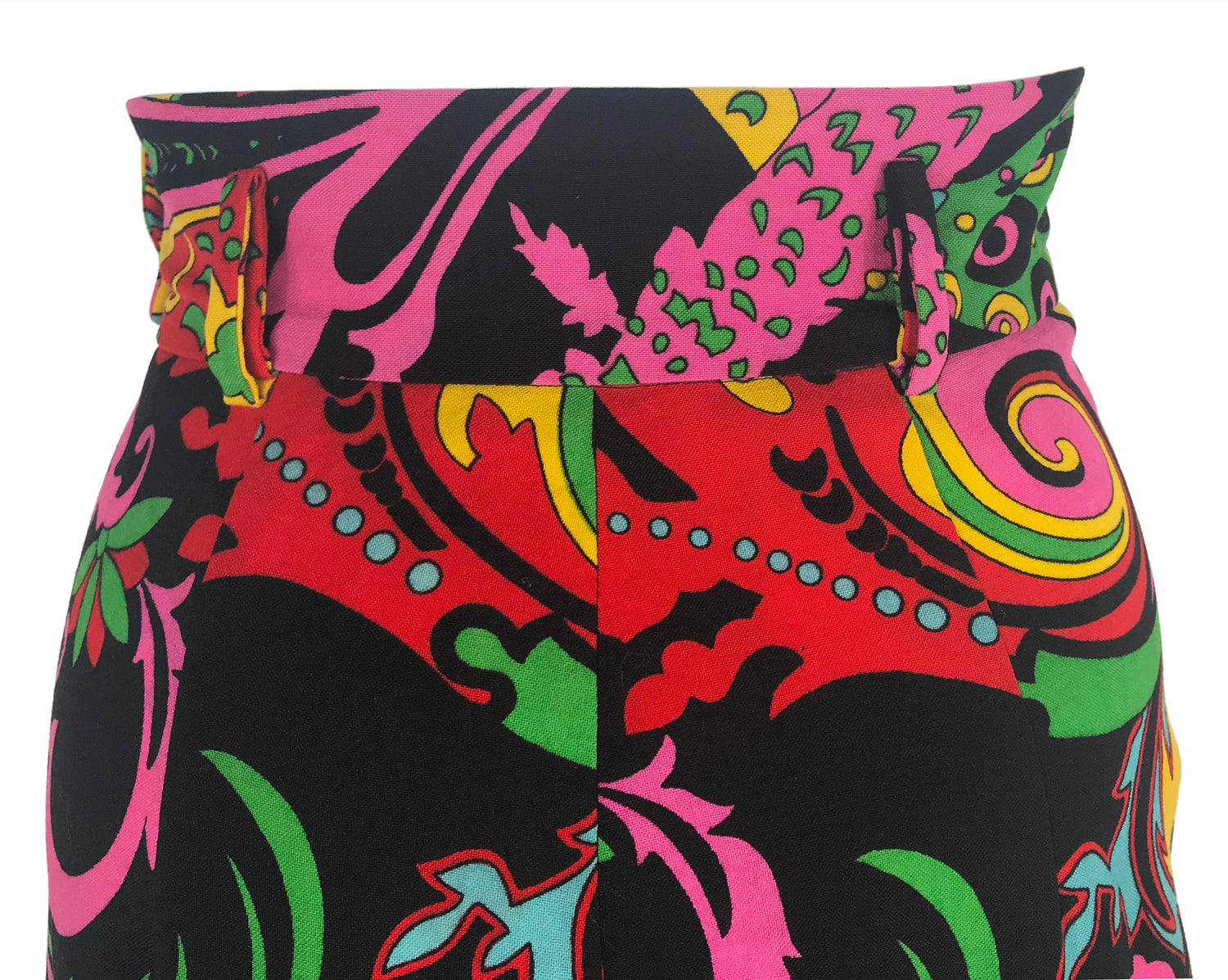 Fruit Vintage Moschino Rare 1990s Psychedelic Print Pants