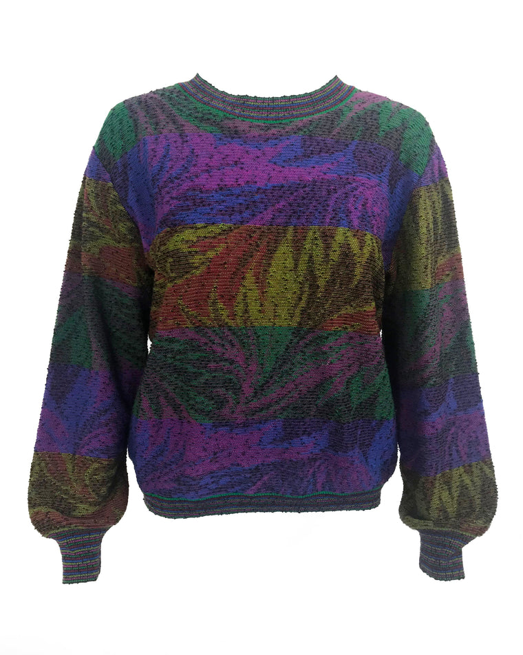 Missoni 1980s Knit Sweater