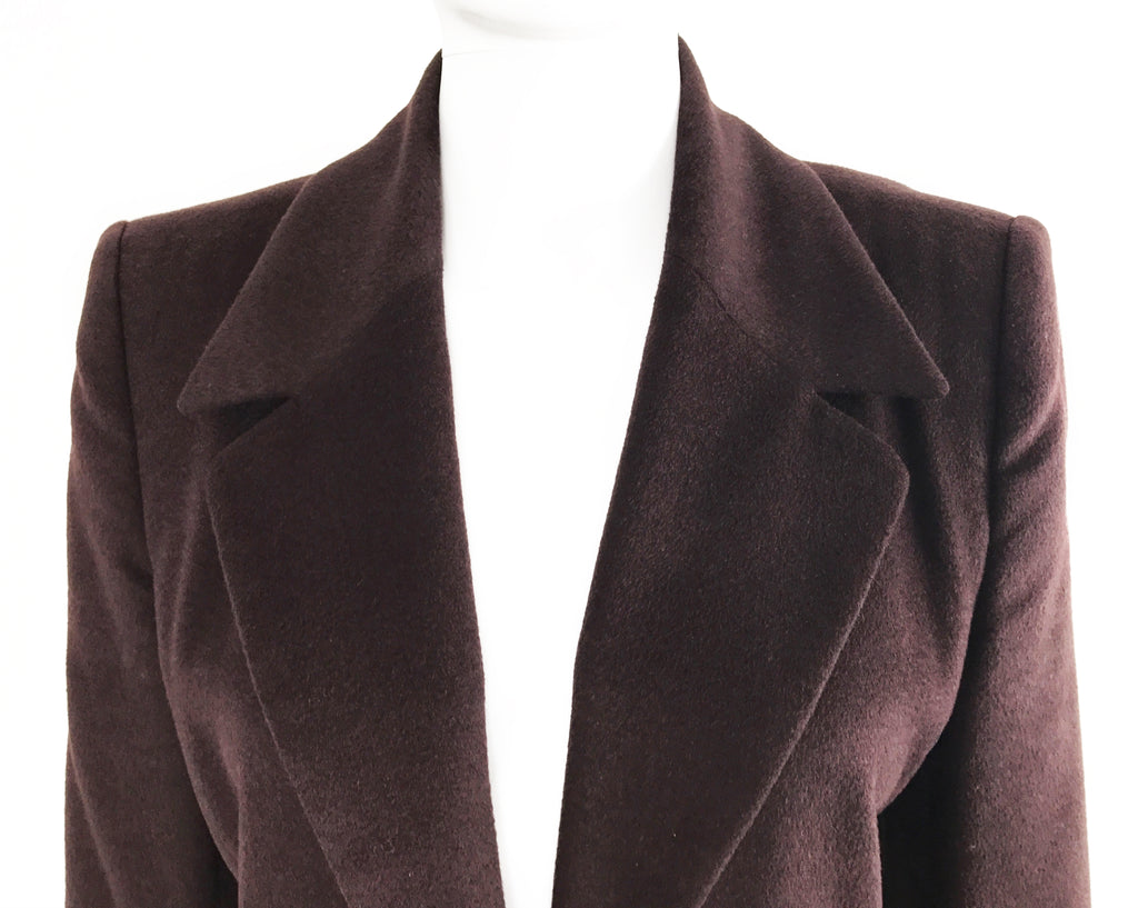 FRUIT Vintage Celine 1980s Brown Blazer Jacket