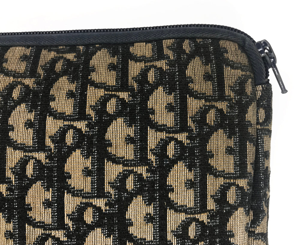 Christian Dior 1980s Monogram Clutch Bag