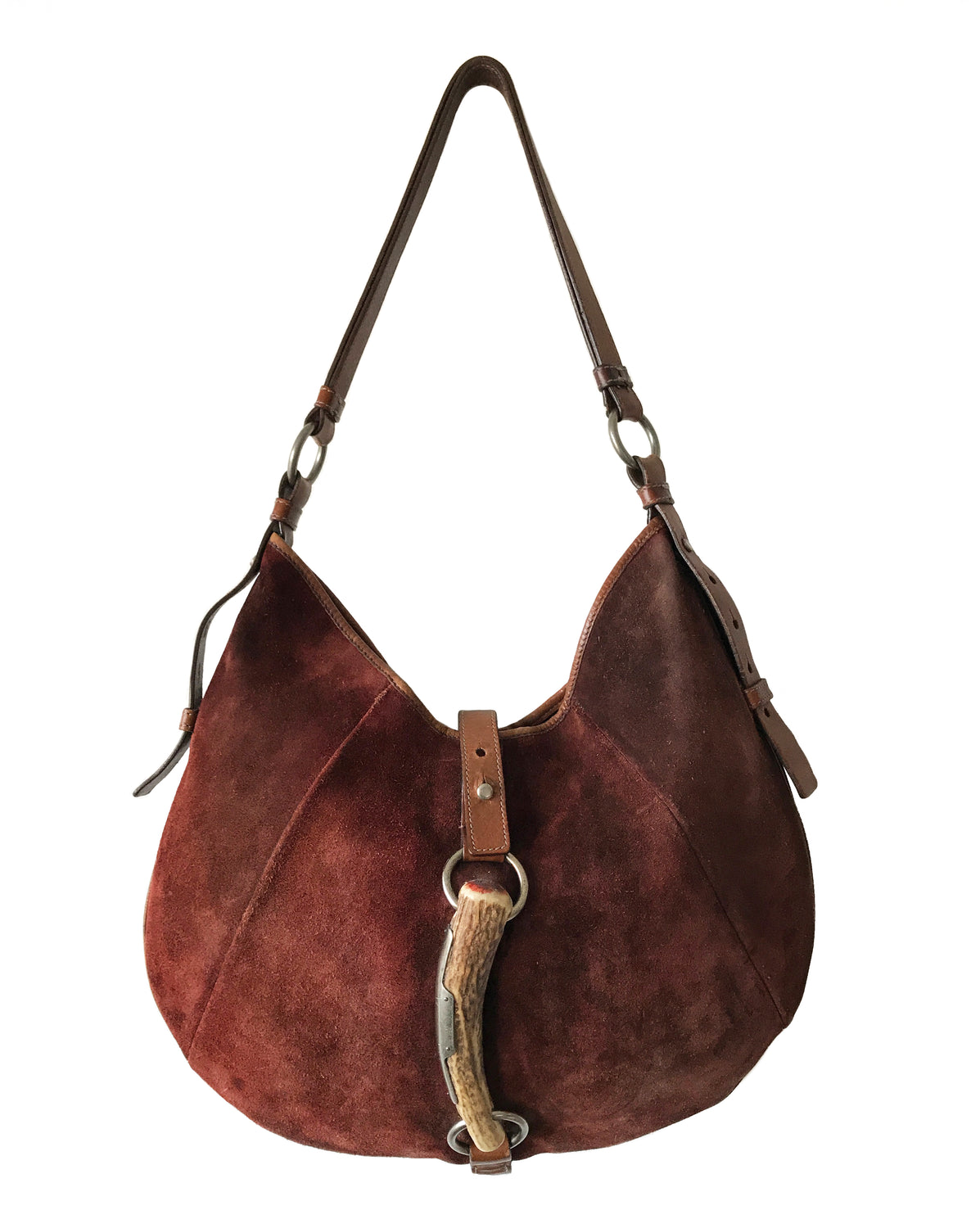 Fruit Vintage Yves Saint Laurent by Tom Ford Brown Suede Mombasa bag