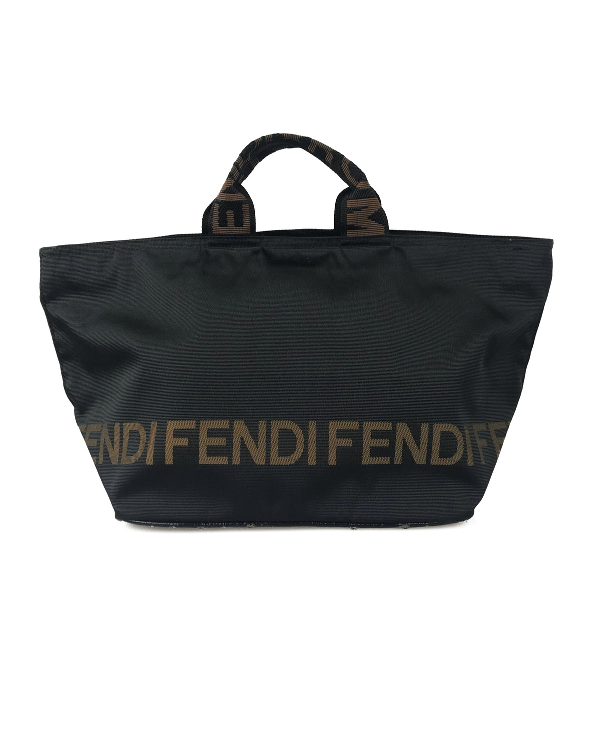 5df74926ccb3 Fendi Logo Tote Bag