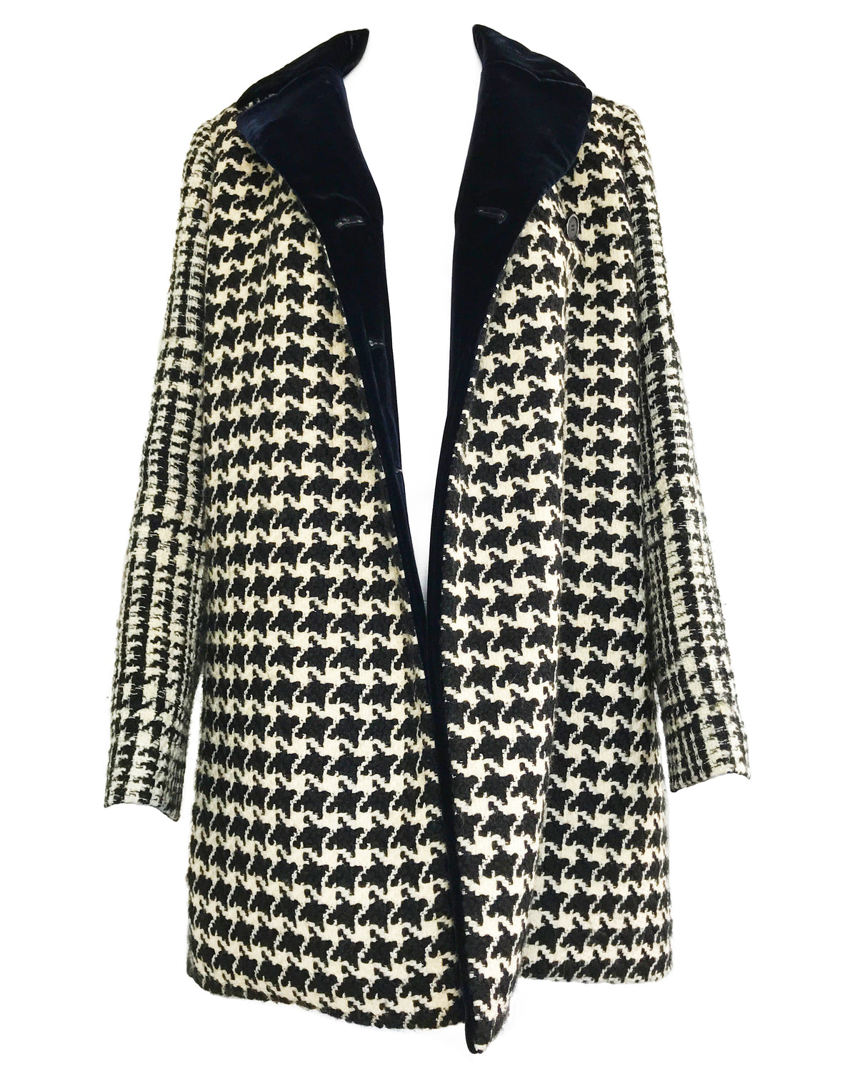 Fruit Vintage Christian Dior Houndstooth Coat by Raf Simons